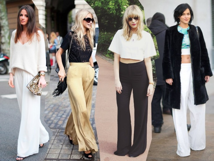 palazzo pant long wide legged trousers trends 2014 outfits fashion blog bloggers street style streetstyle
